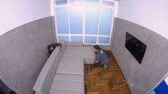 Saiba as medidas corretas para o sofá em relação à parede da sua sala