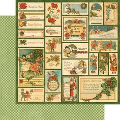 Graphic 45 - Christmas Emporium Collection - 12 x 12 Double Sided Paper - Santa Express at Scrapbook.com $0.76