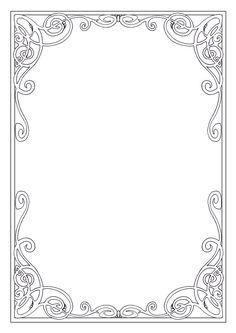 printable art deco border free gif jpg pdf and png downloads