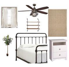 FARMHOUSE bedroom wi