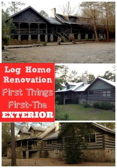 Follow along as this log home gets renovated