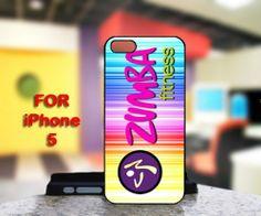 Zumba Fitness Logo For IPhone 5 Black Case Cover | TheArtOffandi - Accessories on ArtFire