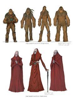 Star Wars III concept art by Sangjun Lee