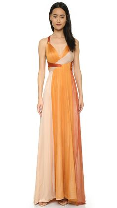 a61abd20a9 Shop Catherine Deane Erin Silk Tulle Gown at Modalist Chiffon Gown