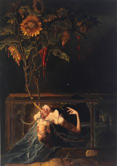 Creepy and beautiful, all at the same time. Botanica 23 by Gail Potocki. Creepy and beautiful, all at the same time. Botanica 23 by Gail Potocki. Art And Illustration, Illustrations, Art Pastel, Renaissance Kunst, Arte Obscura, Arte Horror, Horror Art, Classical Art, Fine Art