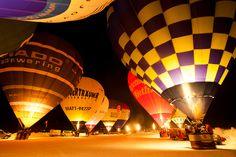 Kaiserwinkl Alpin Ballooning Nightglow!