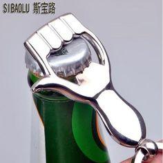 SIBAOLU Interesting Arm Bear Palm Hand Shape Beer Wine Bottle Opener Winebottle Openers Keychain Key Ring Great Gift