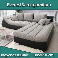 everest-sarokgarnitura-fokep-ujabb Sofa, Couch, Modern, Furniture, Home Decor, Settee, Settee, Trendy Tree, Decoration Home