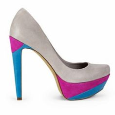Jessica Simpson. Beautiful. I must have. Now - Something Blue, Fuchsia for my colors, and the cream for the Wedding Vibe