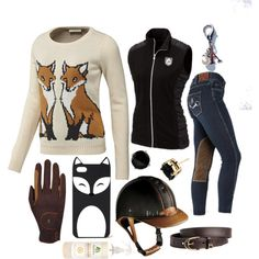 """What does the fox say?"" by lolakeene on Polyvore"