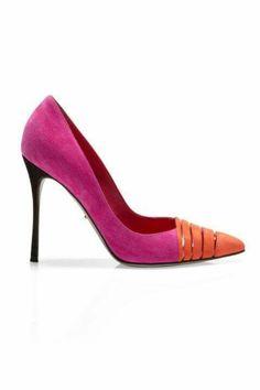 Hot pink & Orange