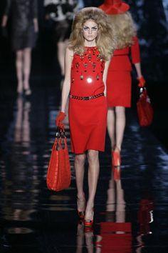Christian Dior Fall 2008 Ready-to-Wear Fashion Show - Malin Ones (METROPOLITAN)