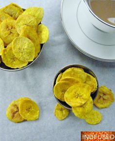 These plantain chips are for the calorie conscious.Plantain chips have been my favorite for as long as I can remember and it is still very hard for me to resist a bag of plantain chips in the stor...