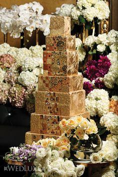 Klimt inspired cake