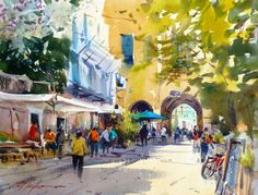 A walk through the arches at Monterosso david taylor