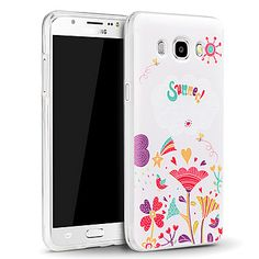 3D Relief Graphic Pattern Fashion Silicone Material Back Cover for Samsung Galaxy J5(2016) 4974071 2016 – $4.99