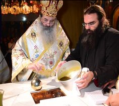 Long photo series of the consecration of a new church. (The church of St. Olga in Greece) Note particularly the photos of the placement of the relics in the altar. Also, the bishop signs the holy table itself in addition to the antimension.