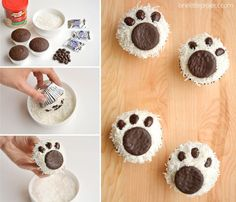 Now, not only are these Polar Bear Cupcakes simply ADORABLE!!!!! They look super duper cute and easy to make too. How very fun indeed. I know that my kids will go NUTS over these adorable little cuties and I so…