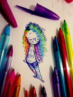 sketch Simple but i like it Art Sketches art sketches Simple sketch Girly Drawings, Art Drawings Sketches Simple, Pencil Art Drawings, Colorful Drawings, Cartoon Drawings, Easy Drawings, Cartoon Art, Anime Kunst, Anime Art