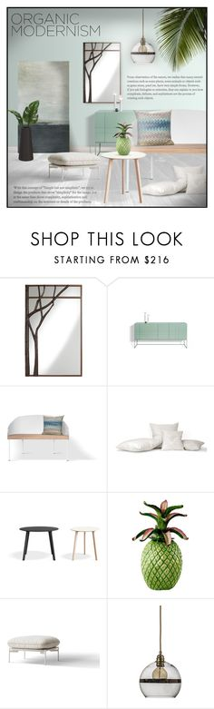 """Sin título #240"" by sally-simpson ❤ liked on Polyvore featuring interior, interiors, interior design, home, home decor, interior decorating, Pacific Coast Lighting, Lillian August and Ebb & Flow"