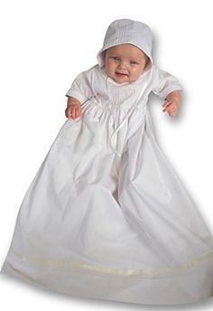 Strasburg Children Babies Alex Christening Gown Dress White 3 Months *** Details can be found by clicking on the image.