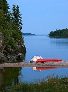 Lake Superior Provincial Park, Ontario Canada, next time I go :) Canoe Camping, Camping Places, Camping Spots, Canoe Trip, Canoe And Kayak, Camping And Hiking, Outdoor Camping, Kayaks, Ontario Provincial Parks