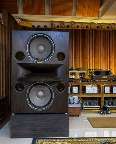 Stunning Kinoshita horn speaker ! Audiophile High End Audio