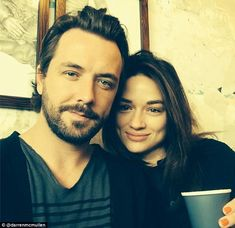 Darren McMullen and Crystal Reed  (July 2014)