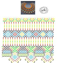 Foto Natali Khovalko Beading Patterns Free, Peyote Patterns, Beading Tutorials, Diy Necklace Patterns, Jewelry Patterns, Seed Bead Projects, Fabric Origami, Native American Beading, Handmade Beads