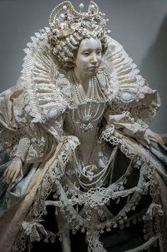 Dolls of the Tudor Age Ooak Dolls, Art Dolls, Paperclay, Soft Sculpture, Doll Crafts, Custom Dolls, Ball Jointed Dolls, Fashion History, Beautiful Dolls