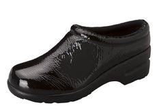 Women's Cherokee Workwear Uniforms Drama Black Patent Comfortable Clogs Cherokee. $48.99. Comtemporary molded outsole. Provides all day comfort and keeps fee dry. Soft Padded Collar. Appropriate impact when walking. Moisture Absorbing Lining Materials