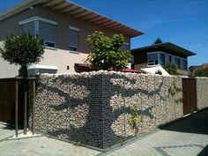 (45) Одноклассники Gabion Wall Design, Stone Wall Design, Fence Design, Door Design, Outdoor Gardens, Indoor Garden, Gabion Retaining Wall, Gambion Wall, Garden Fence Panels