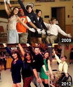 2009-2012 And everyone has changed, but Artie...