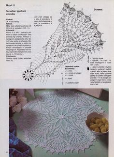 crochet pullover with doily pattern - crafts ideas - crafts for kids Crochet Snowflake Pattern, Crochet Doily Diagram, Crochet Snowflakes, Filet Crochet, Crochet Motif, Crochet Designs, Crochet Patterns, Crochet Round, Mode Crochet