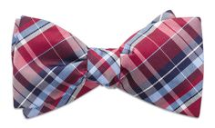Cornwall Red Bow Tie