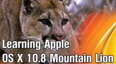 Step-by-step video based tutorial on OS X Mountain Lion. Offers an excellent insight into OS X Led Apple, Apple Os, Mountain Lion, Mac Os, Coding, Author, Teaching, Wall