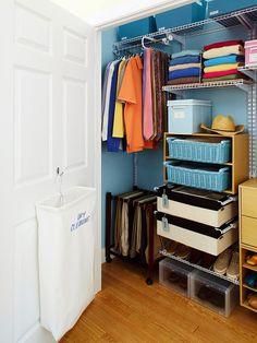 Размусоривание гардеробной