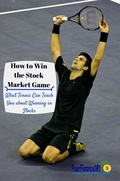 How to win the stock market game! Hint: it's a lot like playing tennis. Learn how playing the amateur game can help you finally win in #stocks and #investing. Insurance