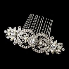 Affordable Elegance Bridal - Freshwater Pearl and Rhinestone Wedding Comb, $71.99 (http://www.affordableelegancebridal.com/freshwater-pearl-and-rhinestone-wedding-comb/)