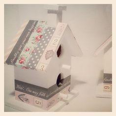 casita de pajaros_2 Decoupage, Washi Tape, Craft Ideas, Joy, Bird, Fall, Crafts, Home Decor, Birdhouses
