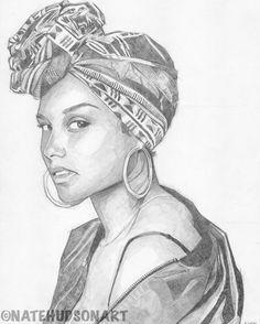 Alicia Keys original art