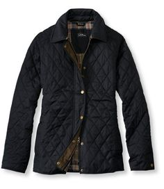 Quilted Riding Jacket | L.L.Bean - *purchased* - this coat is awesome! Looks almost exactly like a Barbour, too.