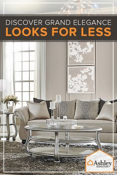 Introducing Ashley�s Lifestyles: furniture and accessories for every taste _ including yours. Explore the pallets of Urbanology, Vintage Casual, Contemporary Living, New Traditions or Grand Elegance and find just what you�re looking for _ all while staying under budget.