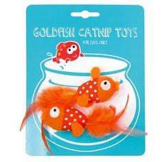 Peixinho Dourado com Catnip Duki - Meuamigopet.com.br #cat #cats #gato #gatinho #bigode #muamigopet