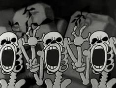 gif Gifmovie Black and White vintage horror cartoon vintage cartoons 1930's