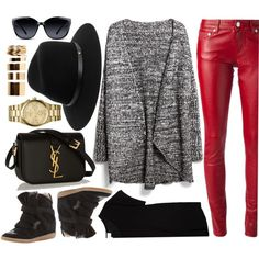 I would wear it, and you? by monmondefou on Polyvore featuring мода, MANGO, The Lady & The Sailor, Yves Saint Laurent, Isabel Marant, MICHAEL Michael Kors, Boohoo, rag & bone and GlassesUSA