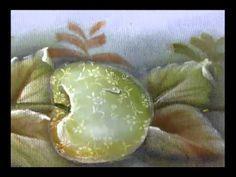 20120531 Patch aplique com pintura em tecido molhado maçã 2