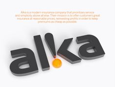Corporate & Brand Identity - Alka Insurance, Denmark by Muggie Ramadani, via Behance