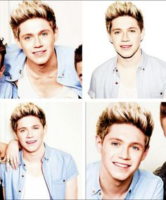 Niall at the glamour photo shoot he's just so cute