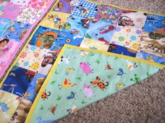 mini eye spy quilts - might be my next project